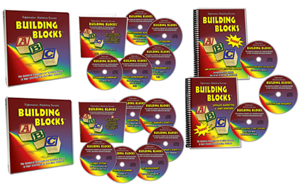 Information Marketing Success Building Blocks Deluxe Home Study Program
